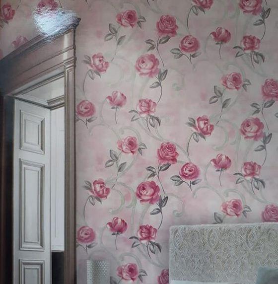 Design motif bunga