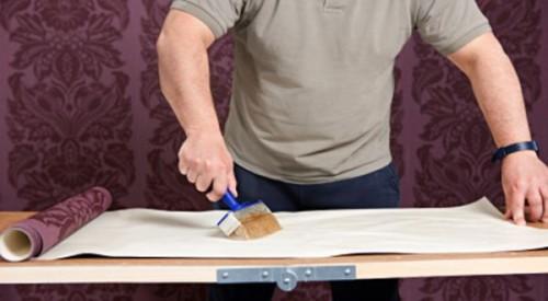 Pemasangan Wallpaper Dinding Dengan Cepat Dan Tanpa Ribet