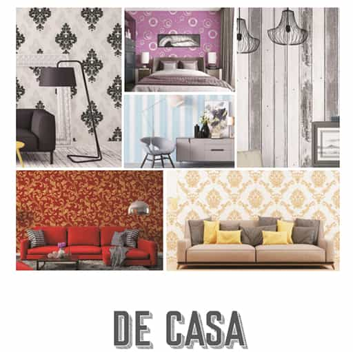 DE CASA QUEEN INTERIOR WALLPAPER