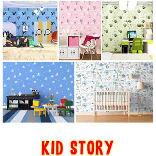 kid story 2019 cover queen interior desain
