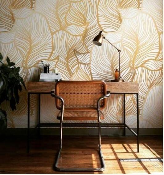 Tips Memilih Wallpaper Dinding untuk Ruang Kerja