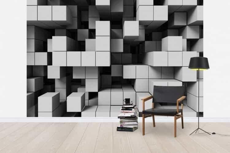 Wallpaper 3D kubus