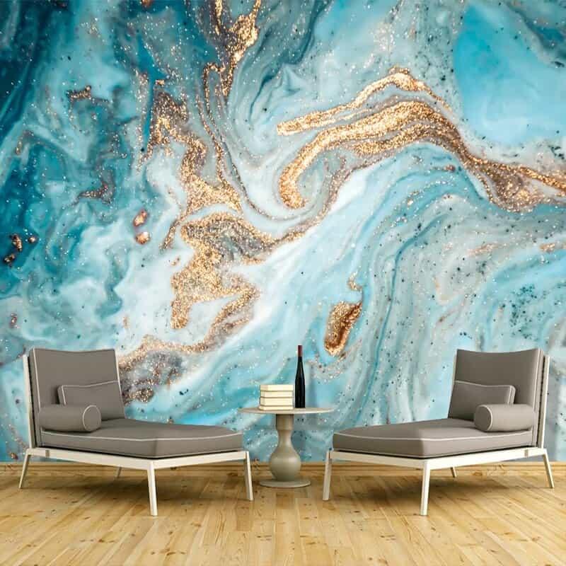 Wallpaper3D marmer untuk lanskap