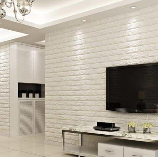 Wallpaper3D untuk kamar motif timbul