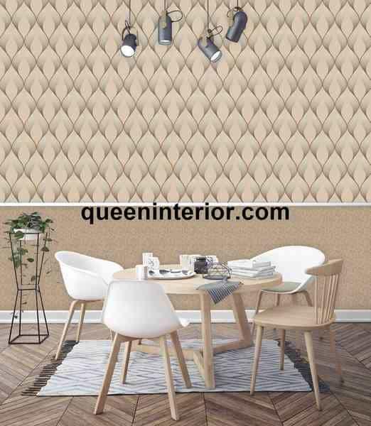 Motif Wallpaper Dinding Metalik Agar Ruang Lebih Terang