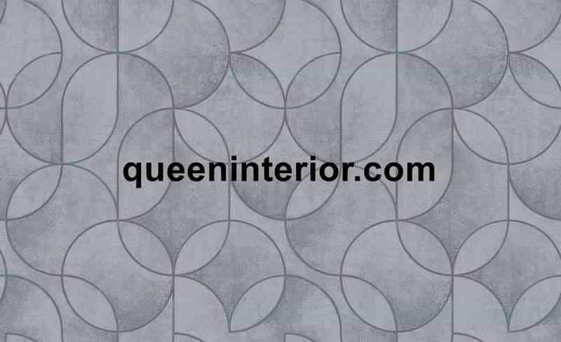 Wallpaper Dinding dengan motif Geometrik